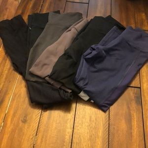 Bundle of 6 fabletics leggings sz xs